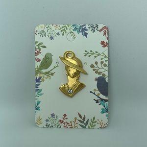 Vintage JJ brooch pin